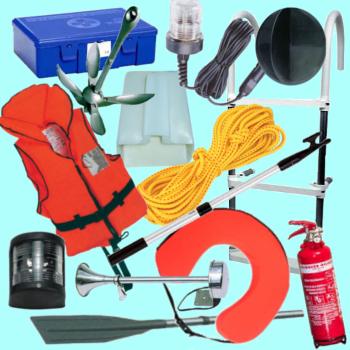 Csónakok kötelező felszerelése